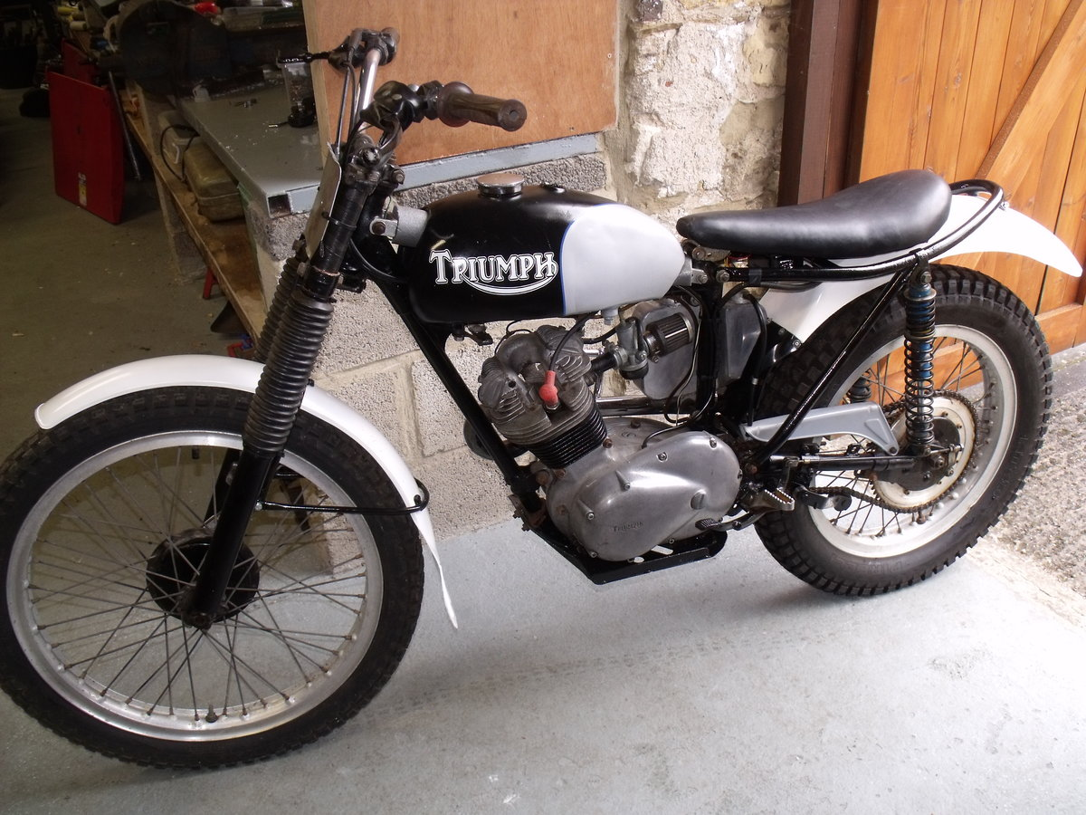 1963 Triumph T20 Tiger Cub pre 65 trials bike road reg For Sale (picture 4 of 6)