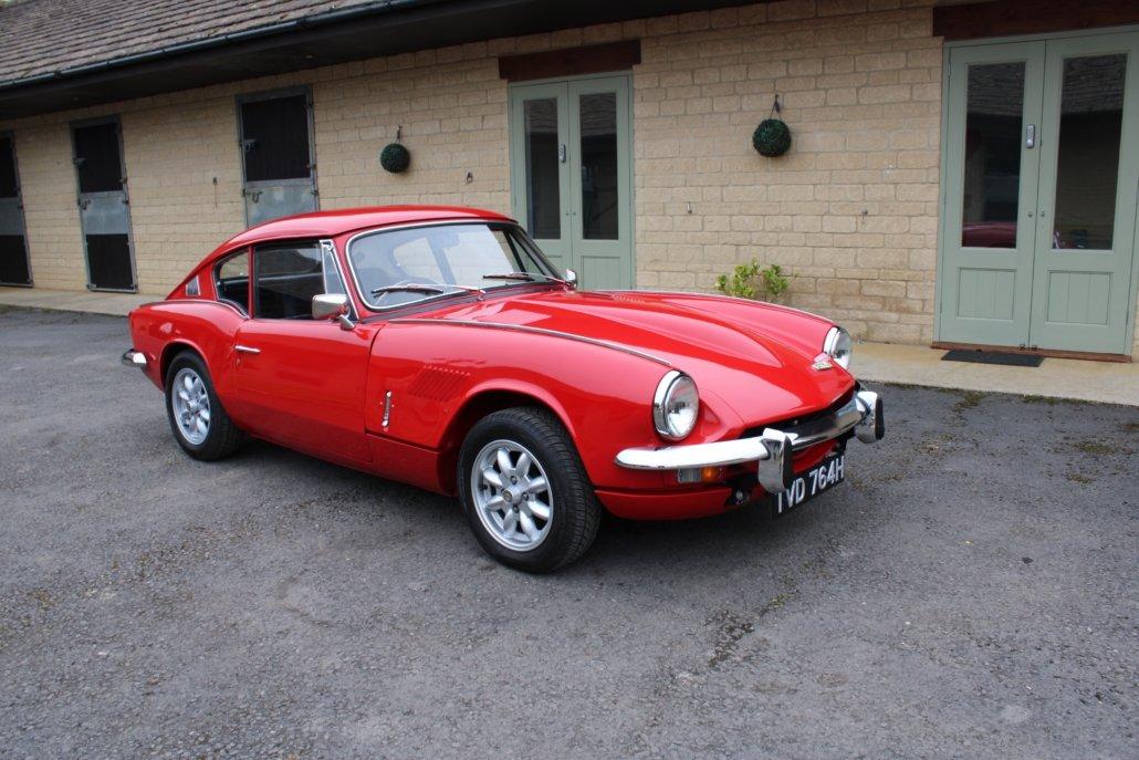 1969 TRIUMPH GT6 2.5 LITRE For Sale (picture 1 of 18)