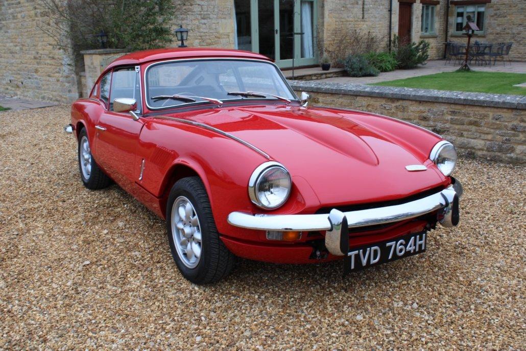 1969 TRIUMPH GT6 2.5 LITRE For Sale (picture 8 of 18)