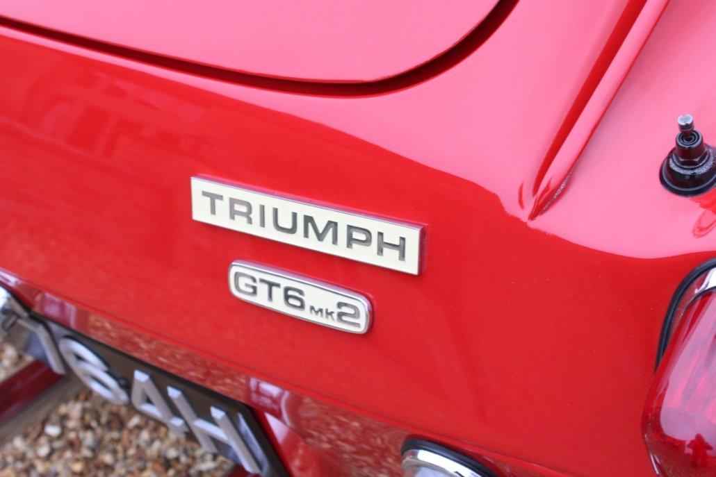 1969 TRIUMPH GT6 2.5 LITRE For Sale (picture 12 of 18)