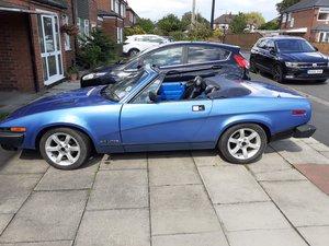 1982 Triumph TR7 Convertible in Blue