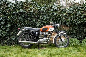 1966 TRIUMPH 649CC T120 BONNEVILLE (LOT 325)