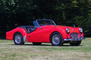 1958 1957 Triumph TR3A