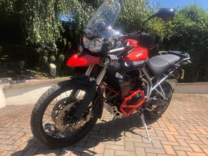 Triumph Tiger 800XC - low mileage