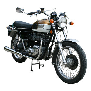 Picture of 1972 Triumph Bonneville Motorcycle, T120R, 650cc.