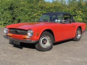 1970 TRIUMPH TR6 UK SUPPLIED RHD WITH MATCHING NUMBERS