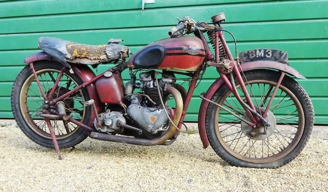1938 TRIUMPH 498CC SPEED TWIN PROJECT (LOT 422) SOLD by Auction (picture 1 of 1)