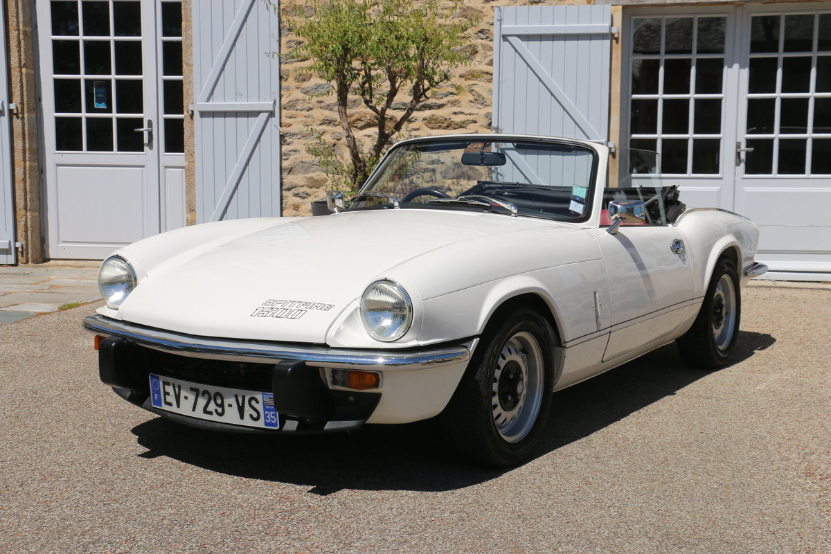 1980 TRIUMPH Spitfire 1500 roadster - Restored For Sale (picture 1 of 6)
