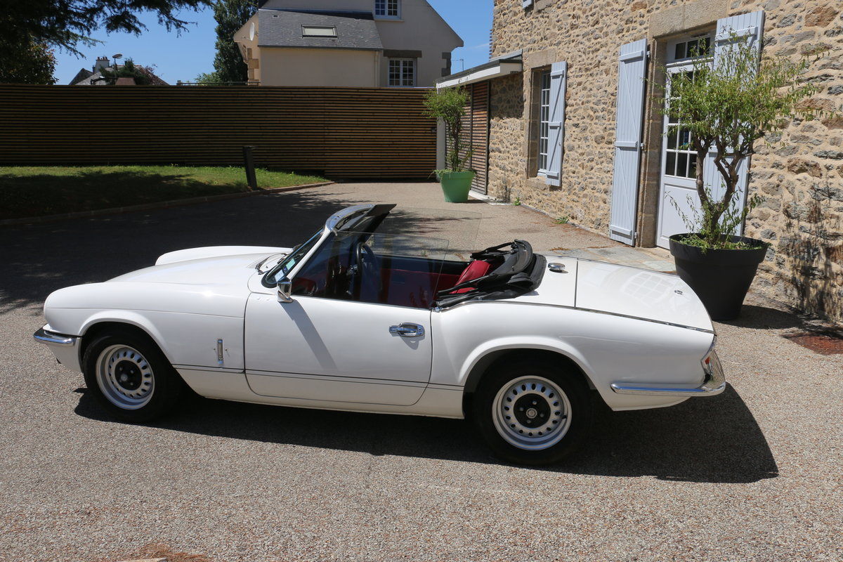 1980 TRIUMPH Spitfire 1500 roadster - Restored For Sale (picture 2 of 6)