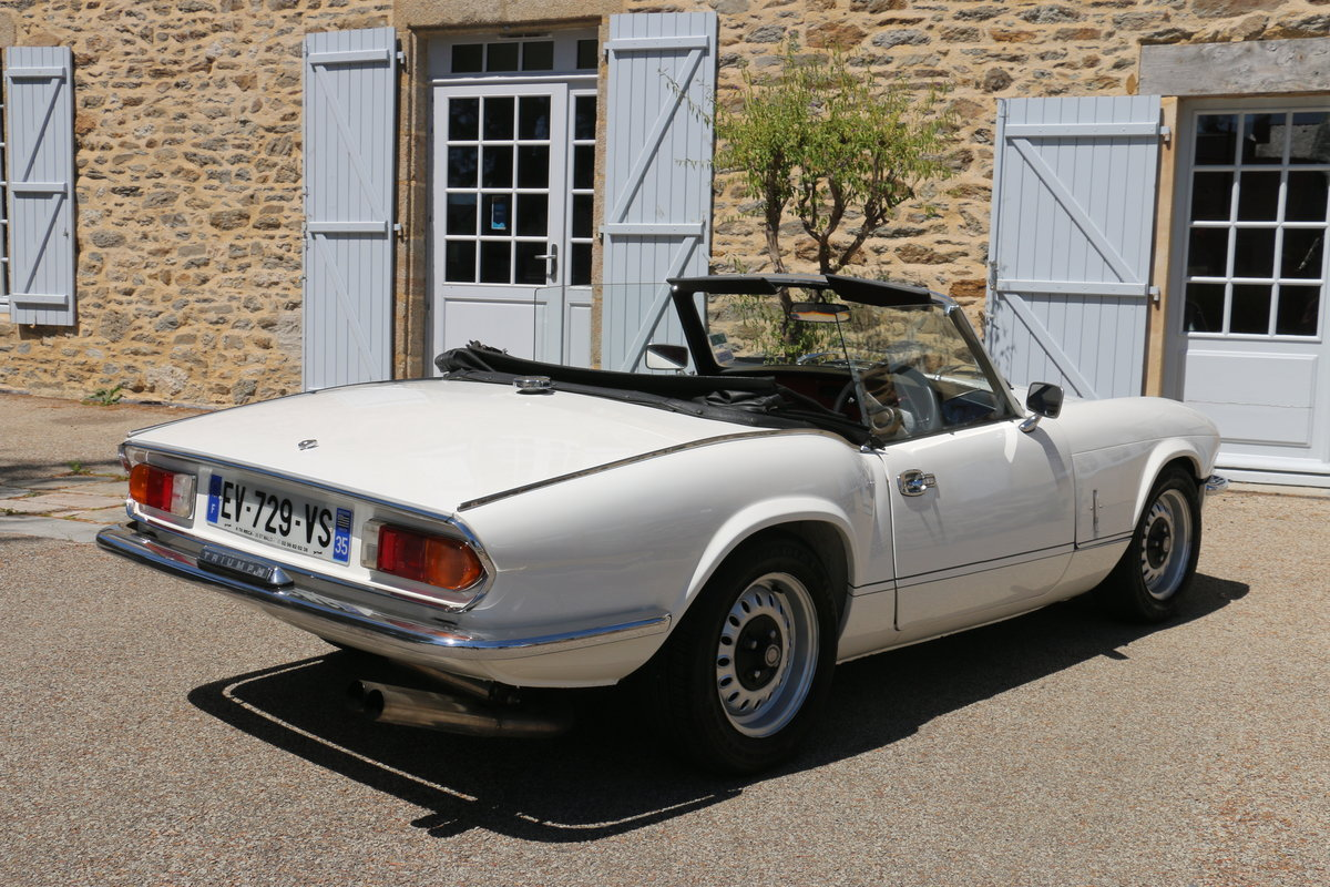 1980 TRIUMPH Spitfire 1500 roadster - Restored For Sale (picture 4 of 6)