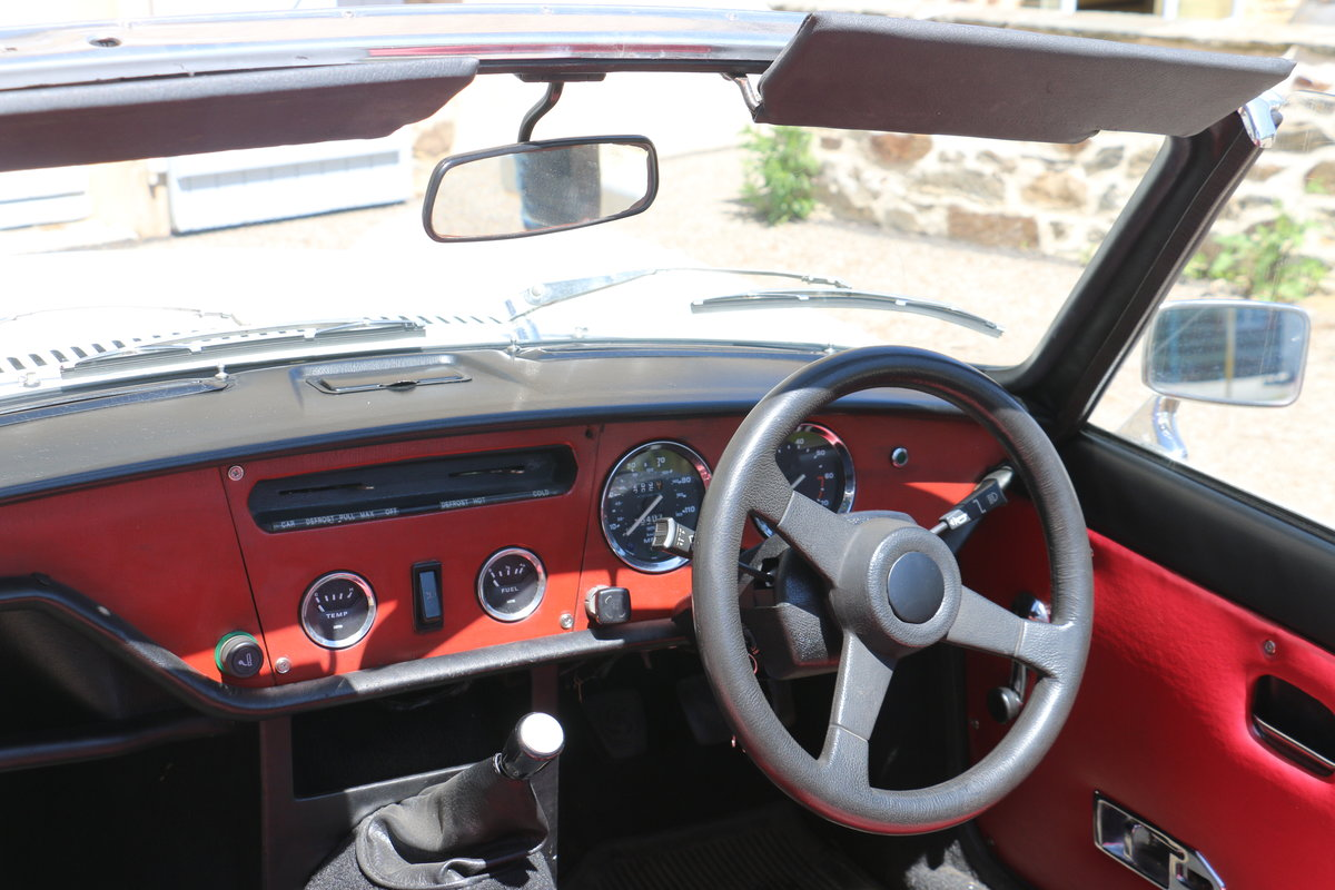 1980 TRIUMPH Spitfire 1500 roadster - Restored For Sale (picture 5 of 6)