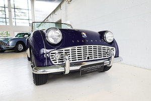 Picture of 1958 Superbly older restored TR3A in Admiral Blue, rare SOLD