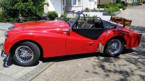 1960 Triumph Red TR3A Oldtimer