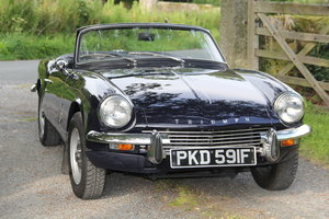 Triumph Spitfire MK 111 • 22000 miles • Beautiful