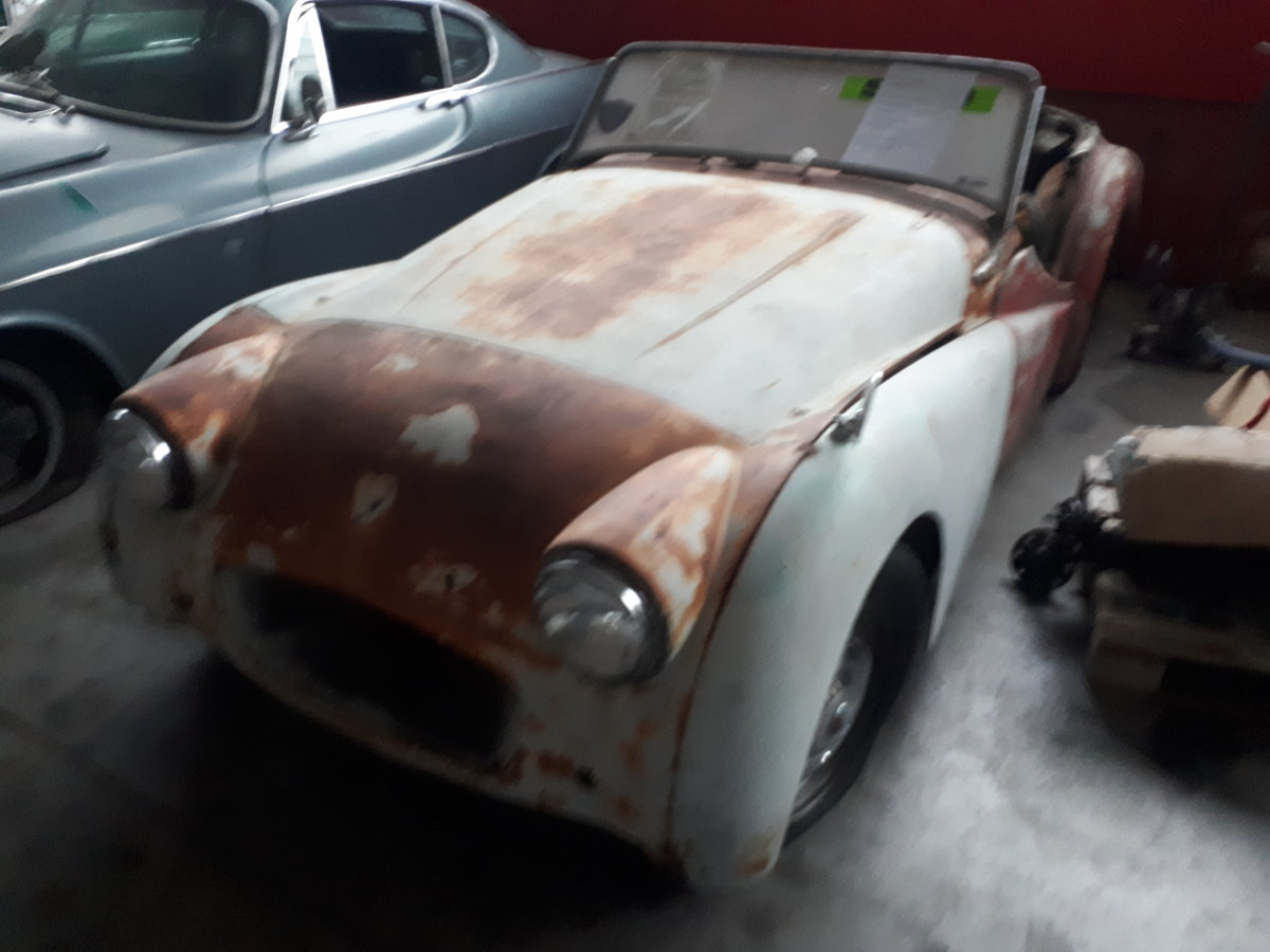 1954 TRIUMPH TR2 LONG DOOR TO RESTORE For Sale (picture 2 of 5)