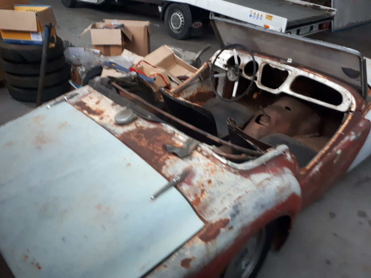 1954 TRIUMPH TR2 LONG DOOR TO RESTORE For Sale (picture 3 of 5)
