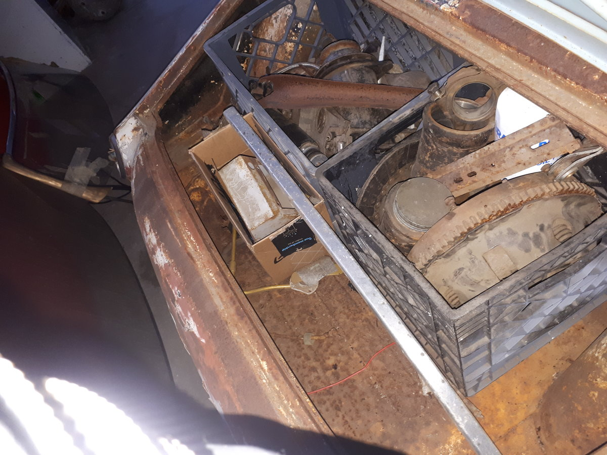 1954 TRIUMPH TR2 LONG DOOR TO RESTORE For Sale (picture 4 of 5)
