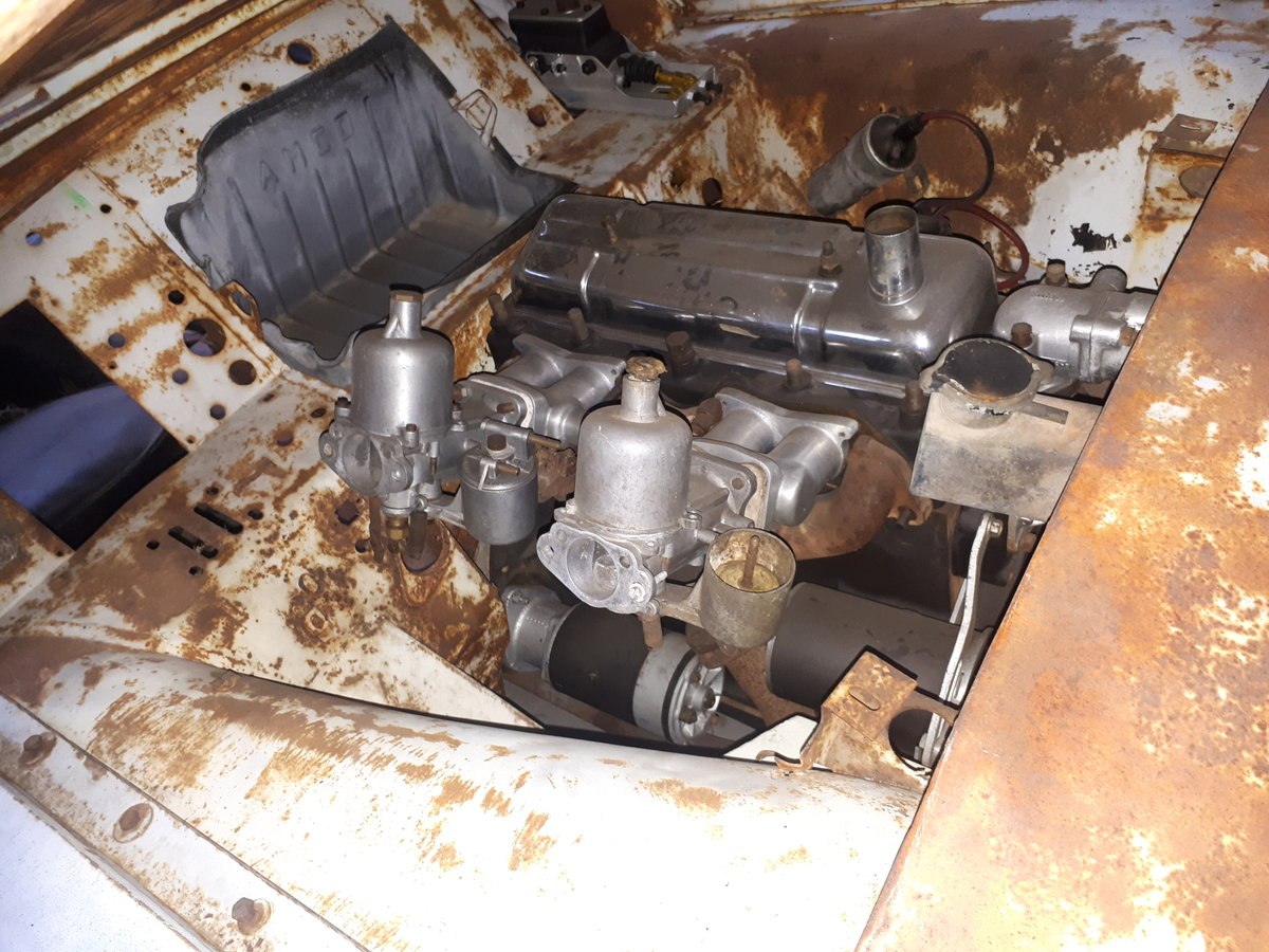 1954 TRIUMPH TR2 LONG DOOR TO RESTORE For Sale (picture 5 of 5)