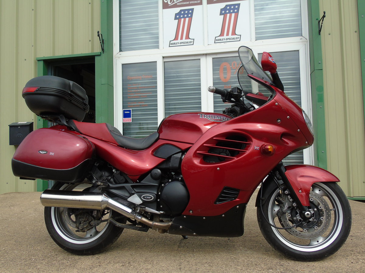 2001 Triumph Trophy 1200 T312 Only 16,000 Miles From New For Sale (picture 1 of 6)
