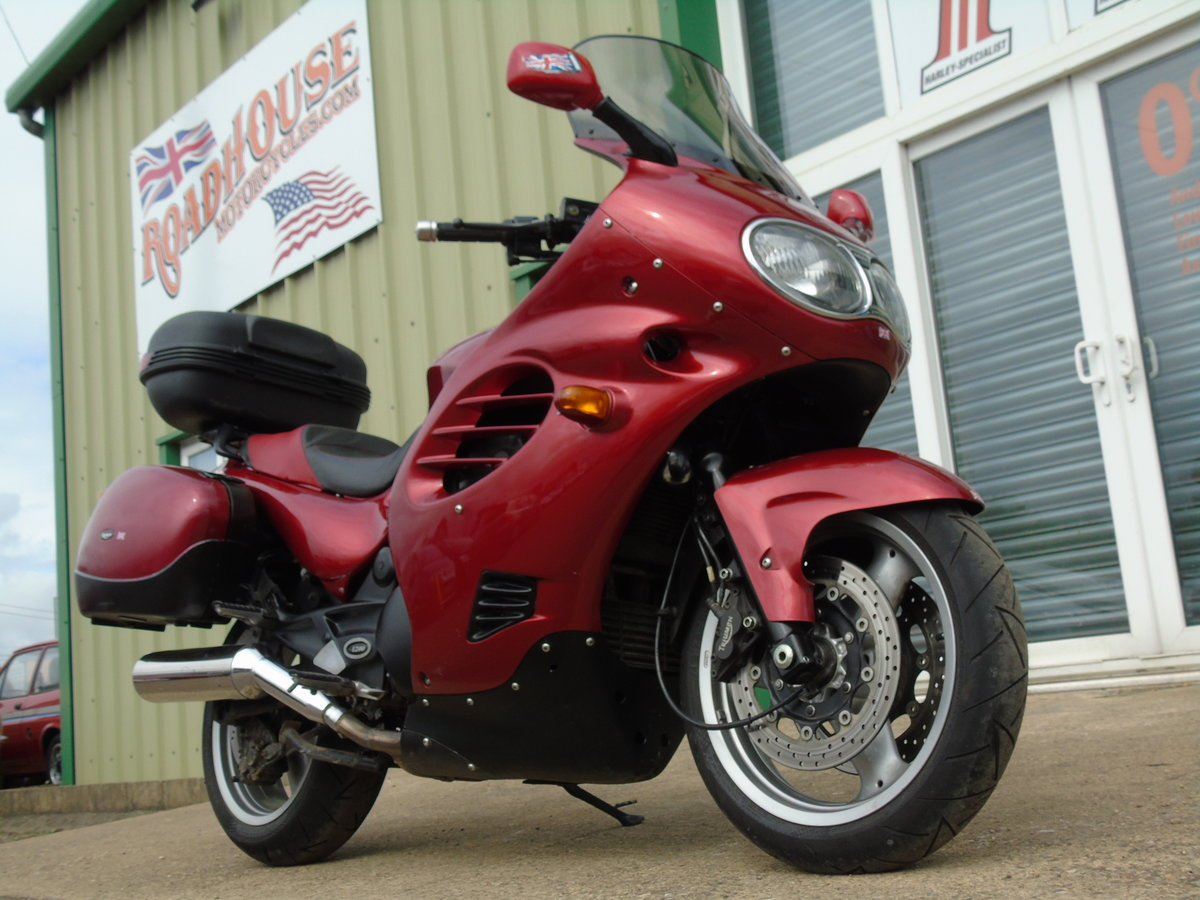 2001 Triumph Trophy 1200 T312 Only 16,000 Miles From New For Sale (picture 3 of 6)
