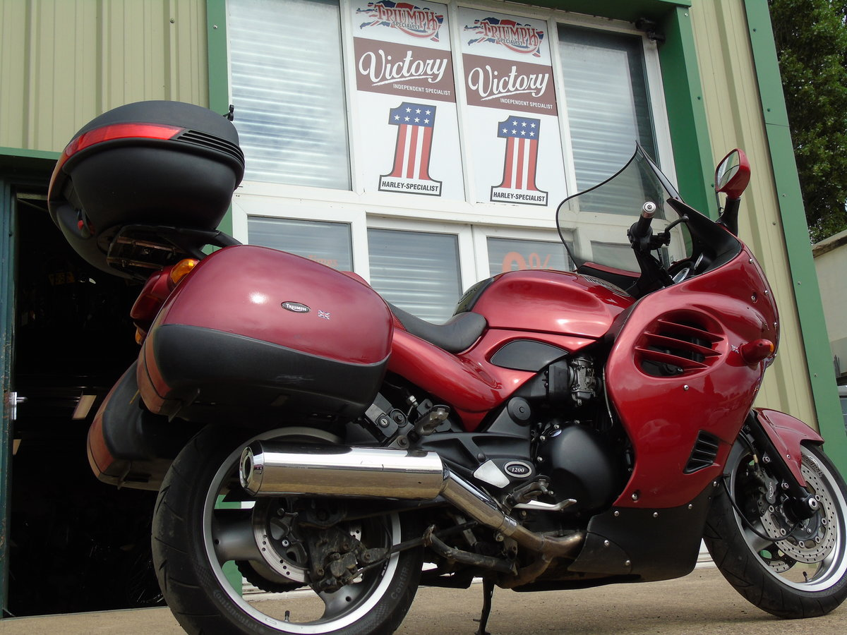 2001 Triumph Trophy 1200 T312 Only 16,000 Miles From New For Sale (picture 4 of 6)