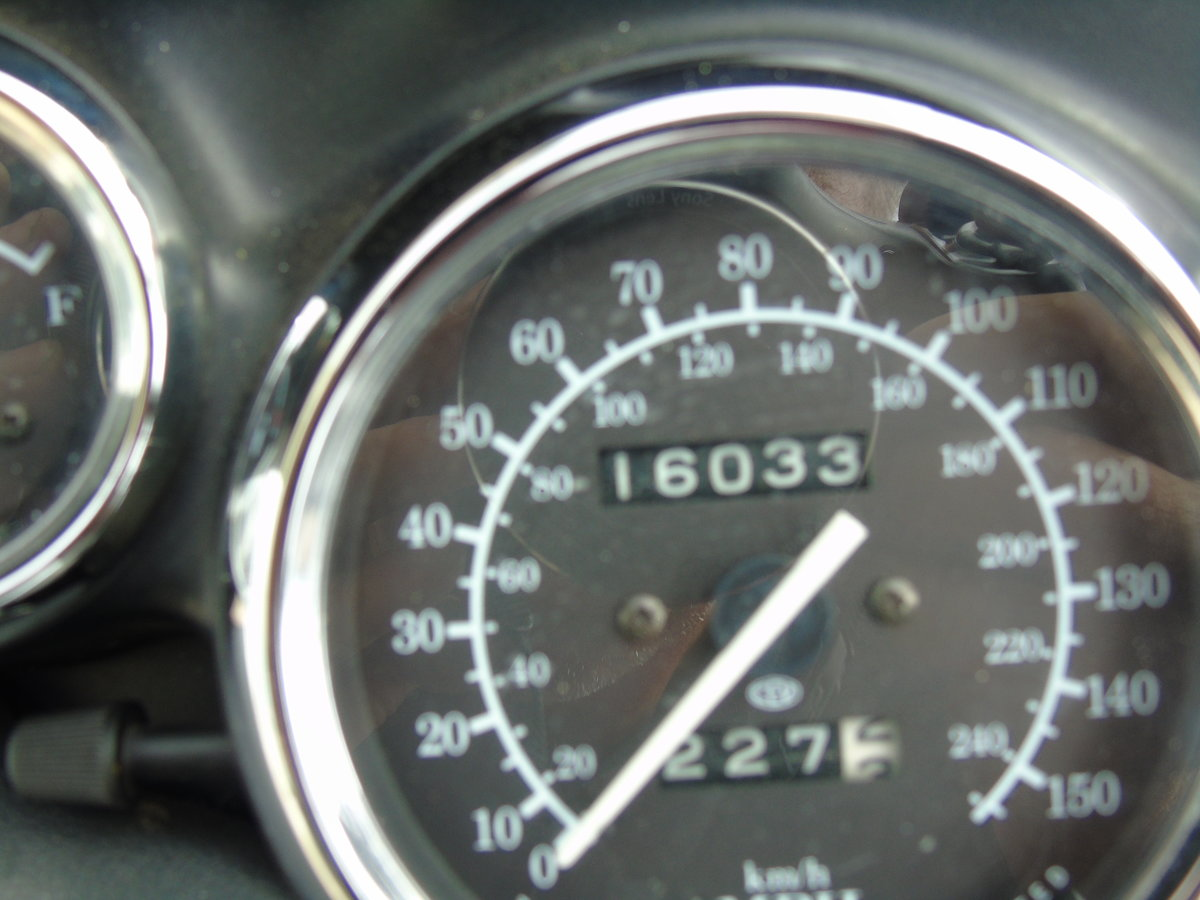 2001 Triumph Trophy 1200 T312 Only 16,000 Miles From New For Sale (picture 5 of 6)