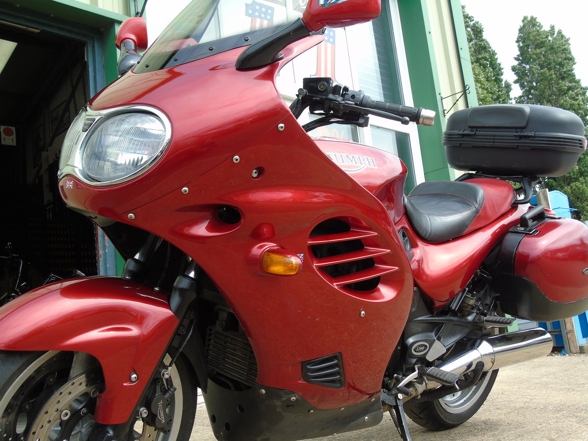 2001 Triumph Trophy 1200 T312 Only 16,000 Miles From New For Sale (picture 6 of 6)