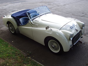 Picture of 1956 Triumph TR3 2-seat sports For Sale