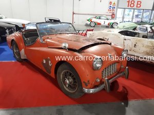 Picture of 1958 TRIUMPH TR 3 SMALL MOUTH TO RESTORE For Sale