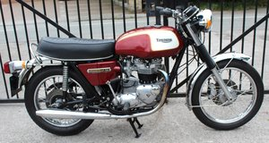 1975  Triumph T140V Bonneville UK Bike Matched Numbers