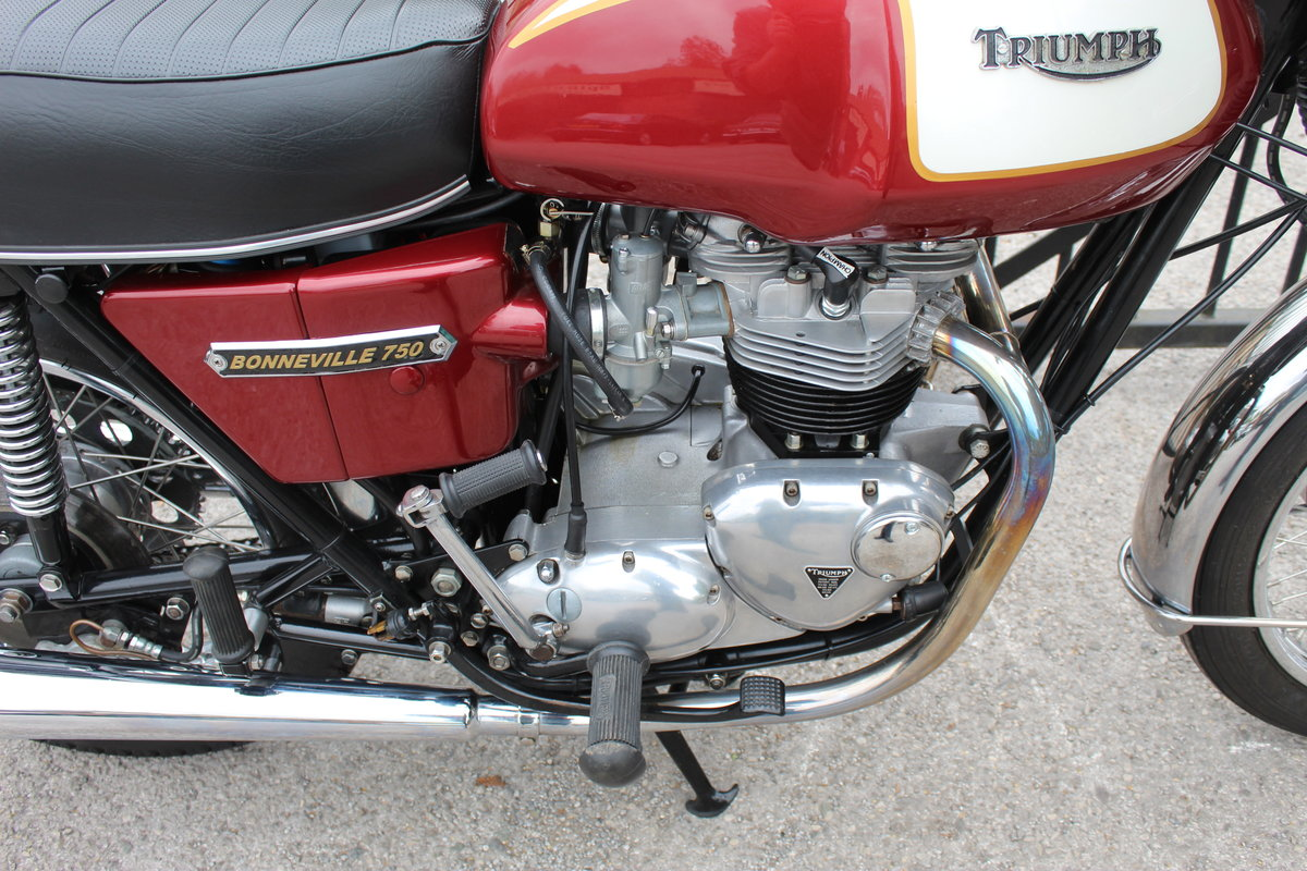 1975 Triumph T140V Bonneville UK Bike Matched Numbers  For Sale (picture 5 of 6)