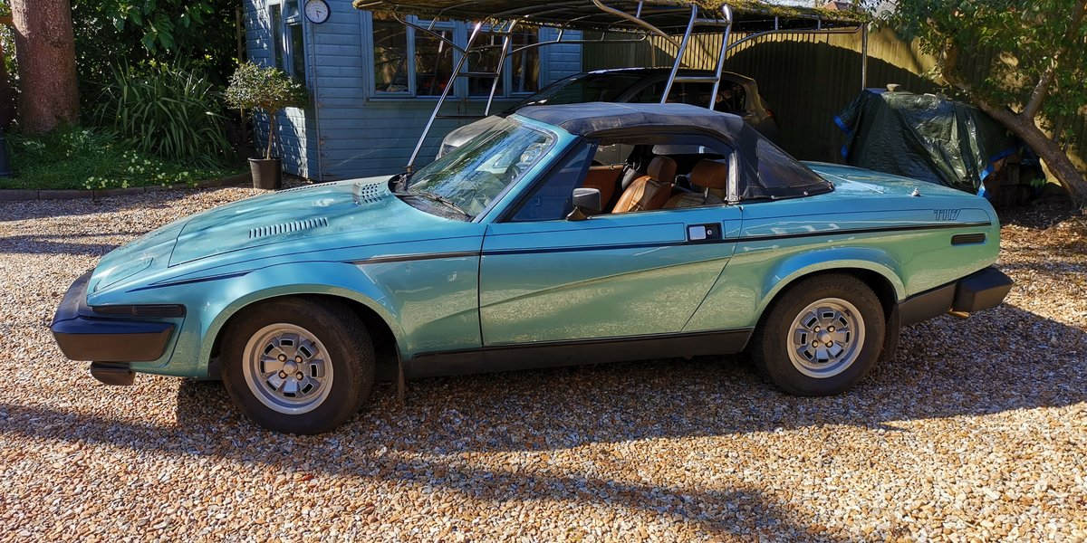1980 Triumph TR7 Convertible 5 speed For Sale (picture 1 of 6)