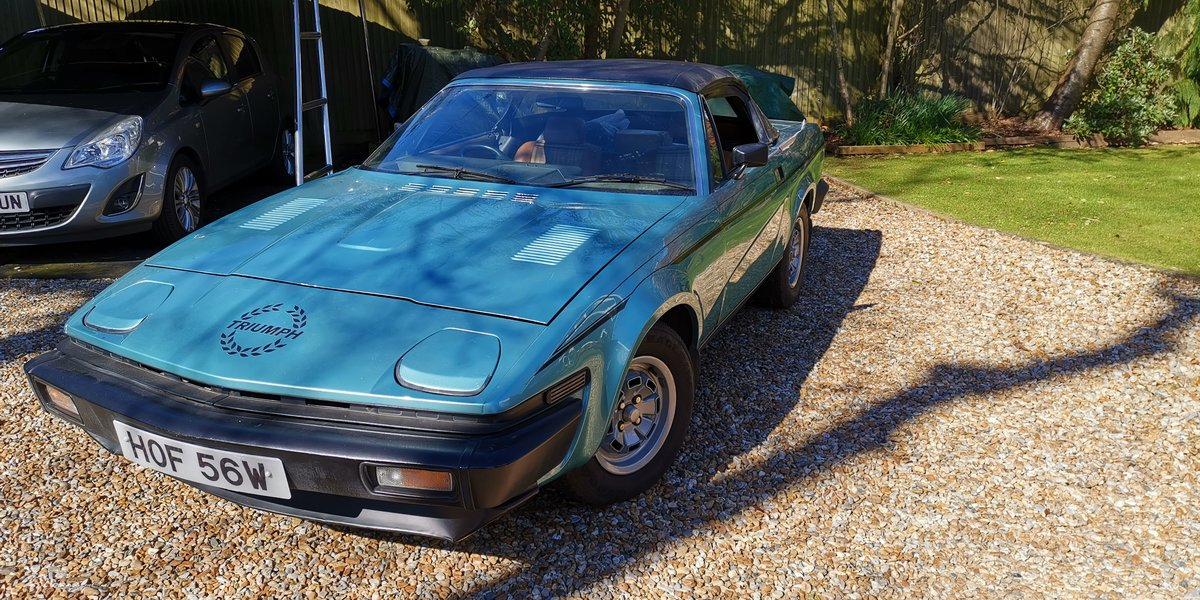 1980 Triumph TR7 Convertible 5 speed For Sale (picture 2 of 6)