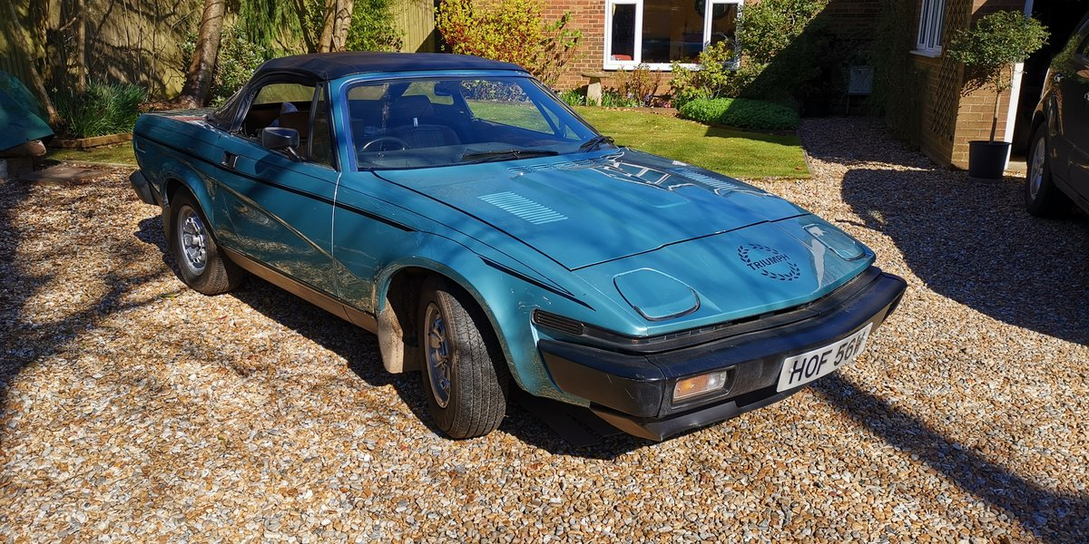 1980 Triumph TR7 Convertible 5 speed For Sale (picture 3 of 6)