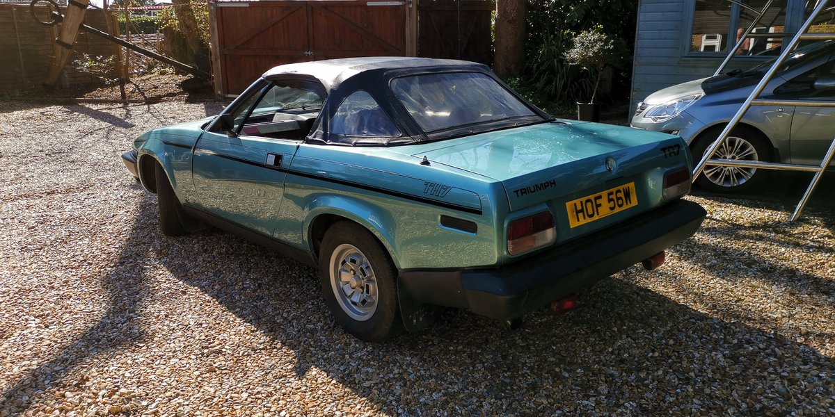 1980 Triumph TR7 Convertible 5 speed For Sale (picture 4 of 6)