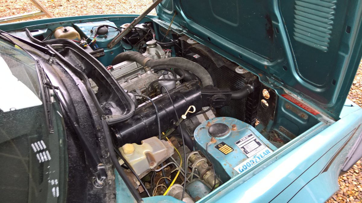 1980 Triumph TR7 Convertible 5 speed For Sale (picture 5 of 6)