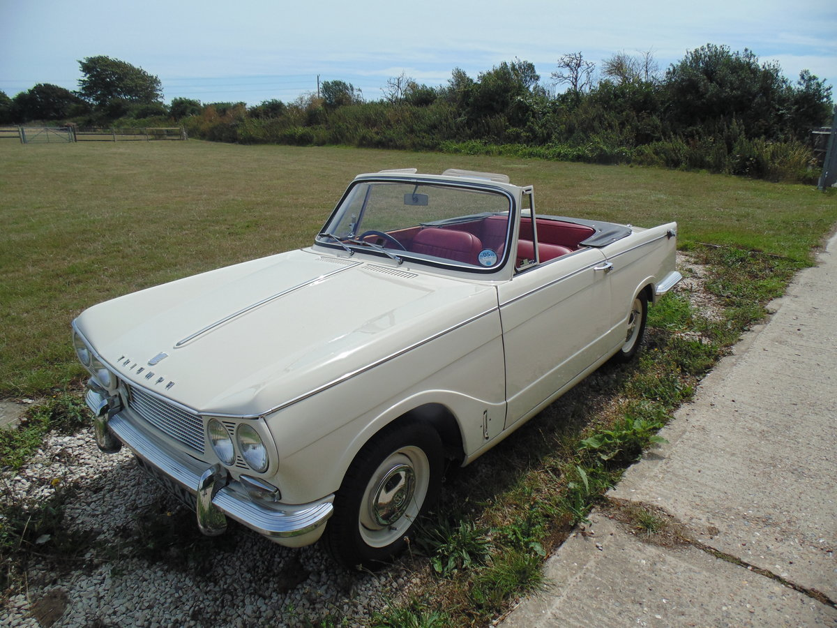 1966 Triumph Vitesse 1600 straight six Convertible  For Sale (picture 1 of 6)