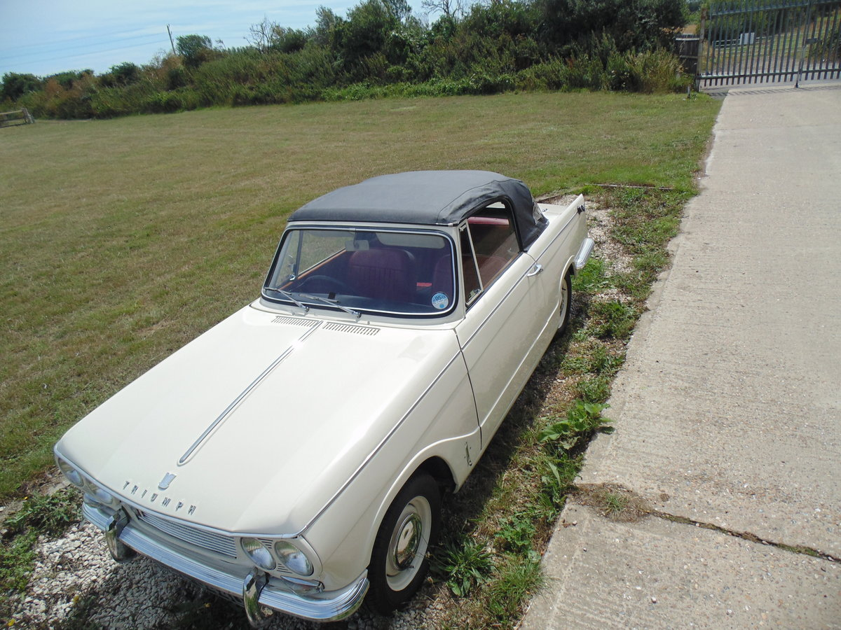 1966 Triumph Vitesse 1600 straight six Convertible  For Sale (picture 4 of 6)