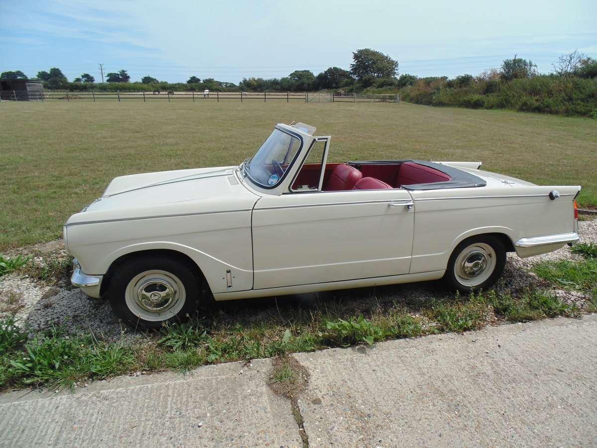 1966 Triumph Vitesse 1600 straight six Convertible  For Sale (picture 5 of 6)