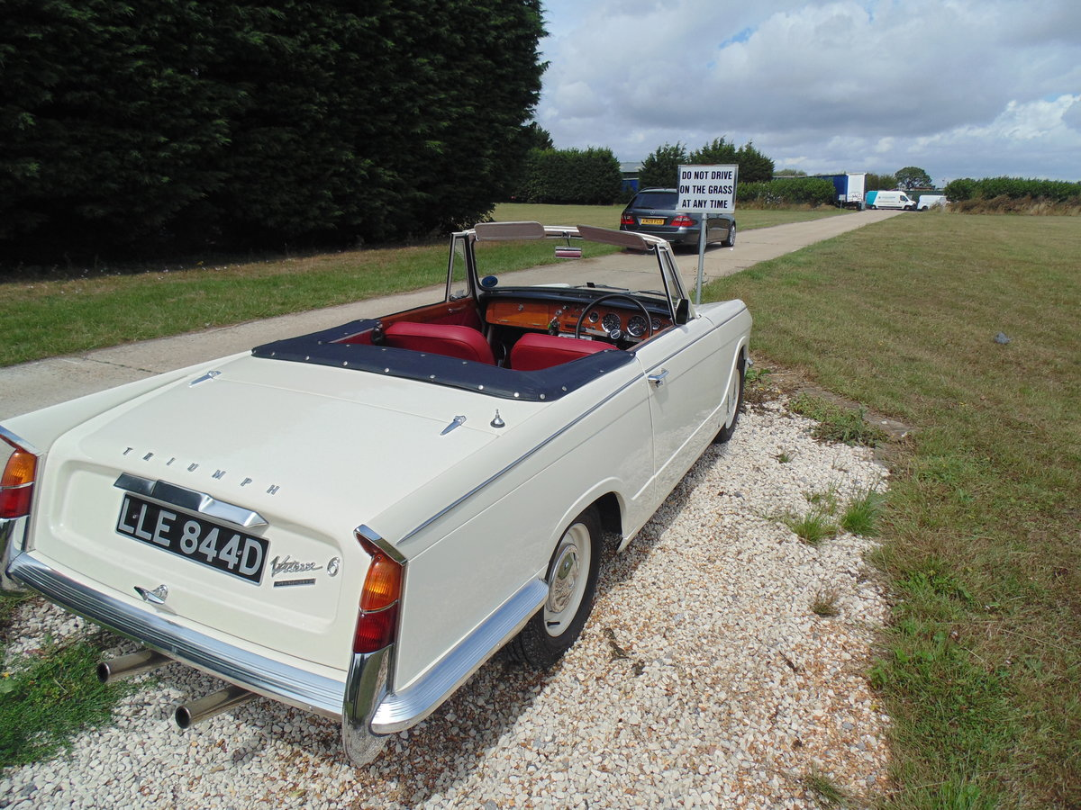 1966 Triumph Vitesse 1600 straight six Convertible  For Sale (picture 6 of 6)