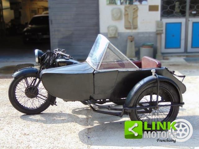 Triumph 500, anno 1935, perfettamente conservata, targa e d For Sale (picture 5 of 6)