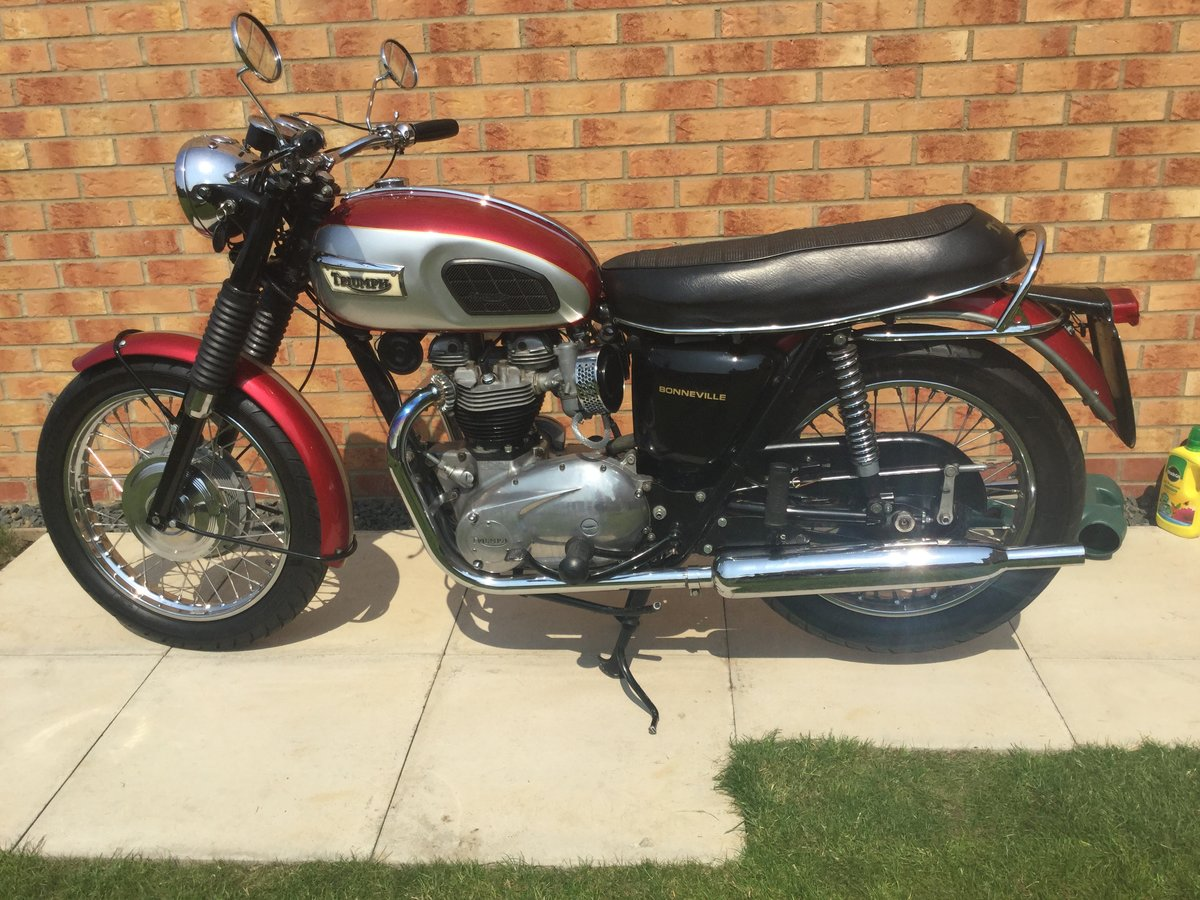 1970 Triumph Bonneville T120 SOLD (picture 4 of 6)