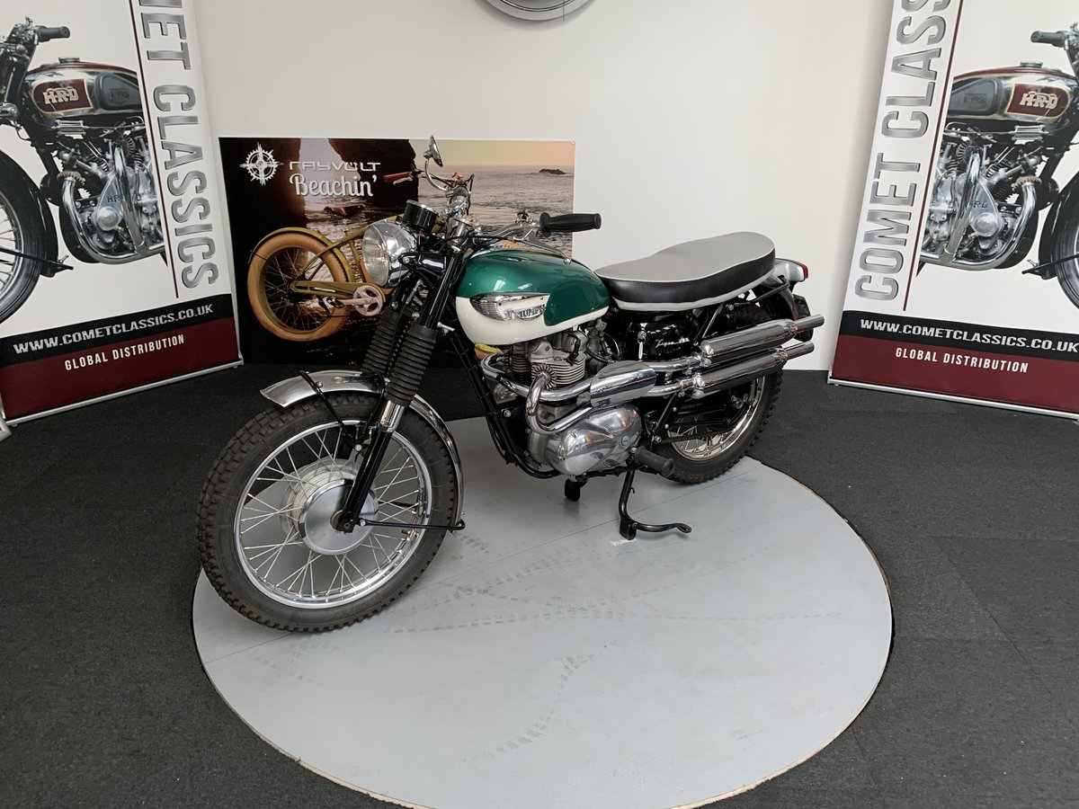 1966 Triumph tiger 100C  For Sale (picture 6 of 6)