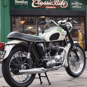 Triumph TR6 650cc Twin, Clean Tidy Bike, RESERVED FOR JON.