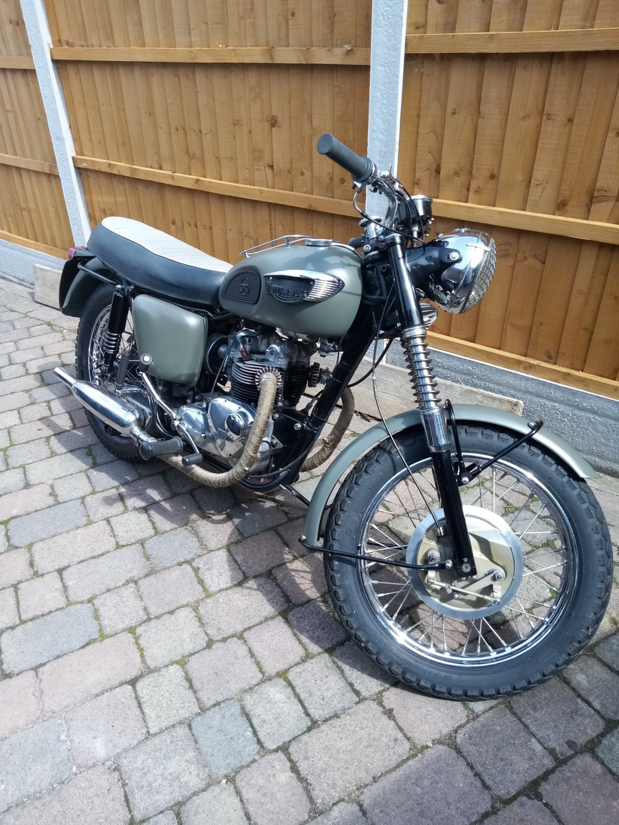 1968 Triumph Tiget SOLD (picture 1 of 6)