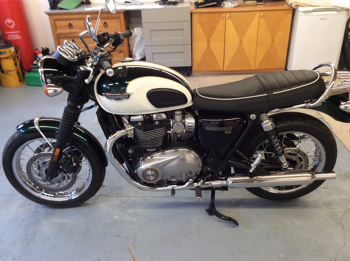 2019 Triumph Bonneville T120 1200cc BARGAIN TO BE HAD   For Sale (picture 2 of 6)