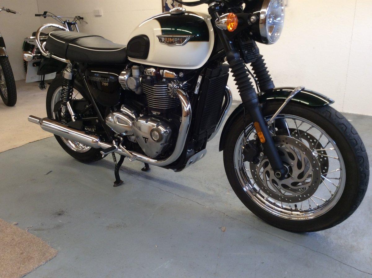 2019 Triumph Bonneville T120 1200cc BARGAIN TO BE HAD   For Sale (picture 5 of 6)