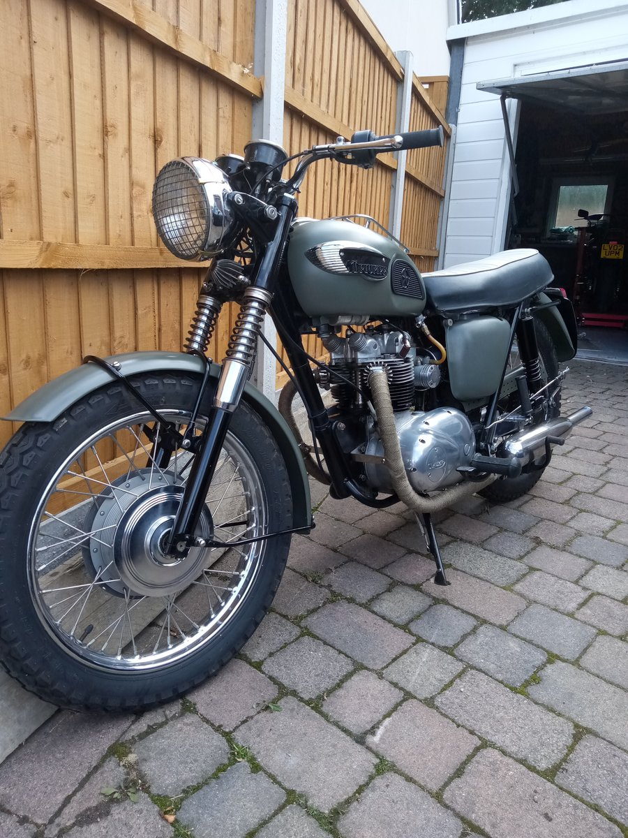 1968 Triumph Tiget SOLD (picture 2 of 6)