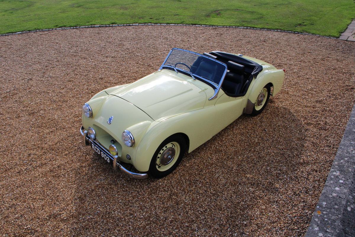1955 TRIUMPH TR2 For Sale (picture 9 of 20)