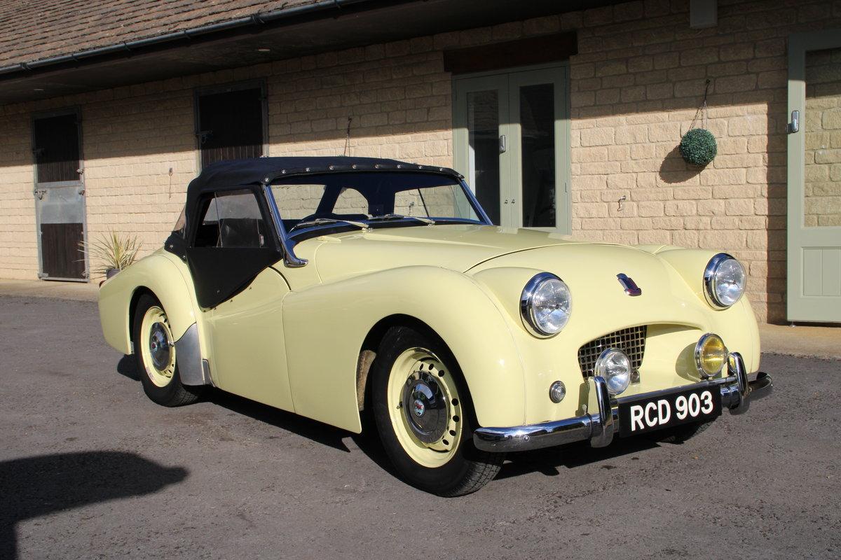 1955 TRIUMPH TR2 For Sale (picture 20 of 20)